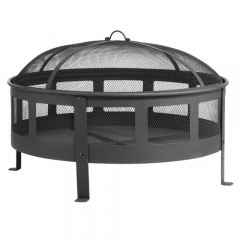 "30"" steel fire pit wood fire pit outdoor fire bowl"